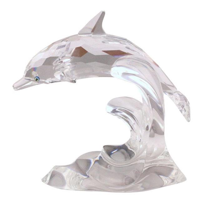 Swarovski Dolphin Crystal Figurine, Est. $50-$150
