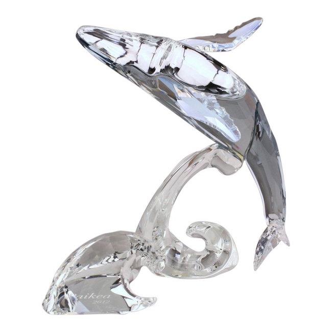 Swarovski Paikea Whale Crystal Figurine, Est. $50-$150