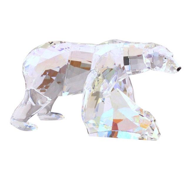 Swarovski Siku Polar Bear Crystal Figurine, Est. $50-$150
