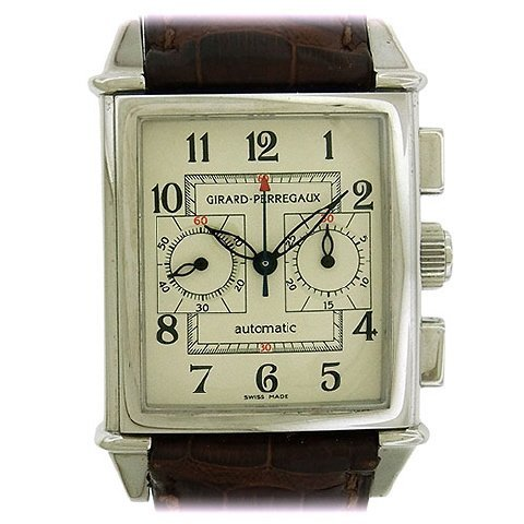 Girard Perregaux Stainless Steel Chronograph featured in Jasper52 Auction on Sept. 18 2016