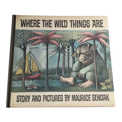 "First Editition ""Where the Wild Things Are"" by Maurice Sendak, Harper & Row Publishers, 1963. Estimate: $2,000-$3,000"