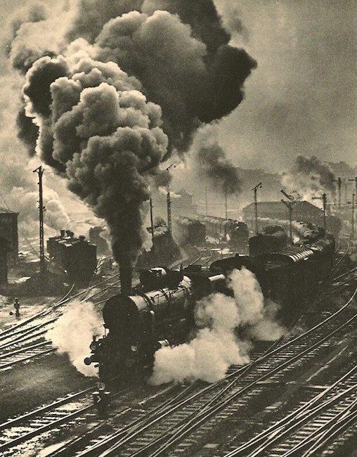 Erno Vadas, 'Locomotive,' image size: 6 x 8 inches