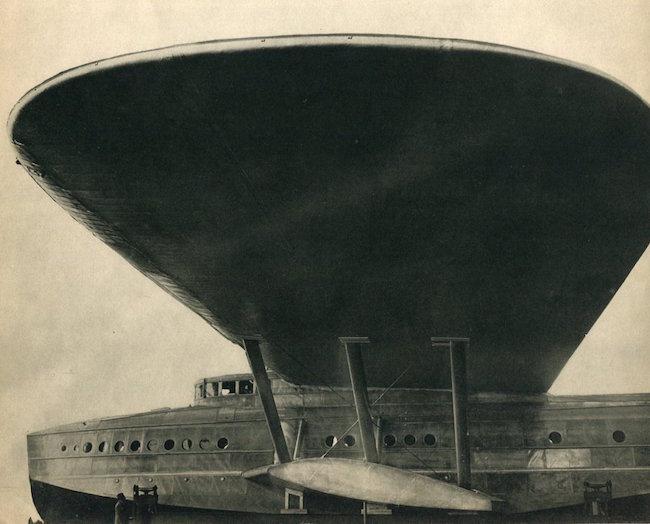 Photo-Union Berlin, 'Aeroplane,' image size 8.5 x 6.5 inches