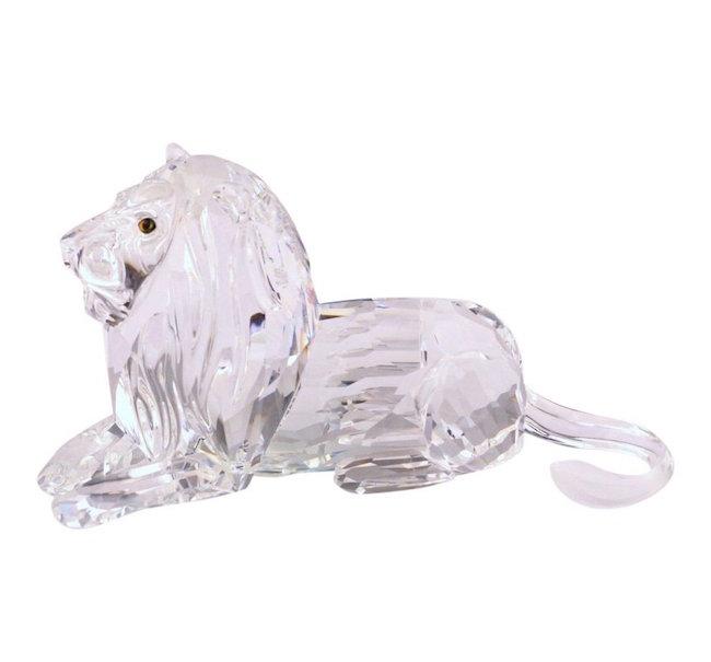 Swarovski Lion Figurine, Est. $50-$150