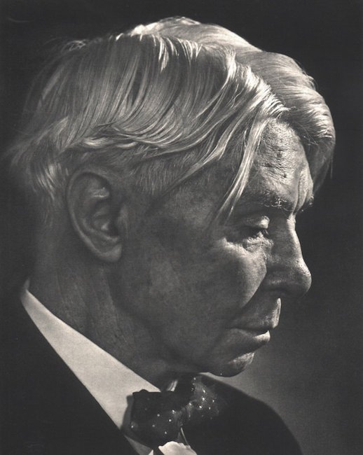 Carl Sandburg by Yousuf Karsh, 1960. Est. $180-$250