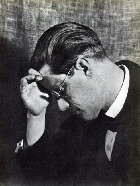 James Joyce by Man Ray, 1934. Est. $250-$350
