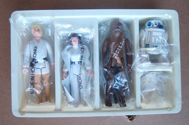 Rare Star Wars Early Bird action figure set, 1978. Estimate: $40,000-$45,000