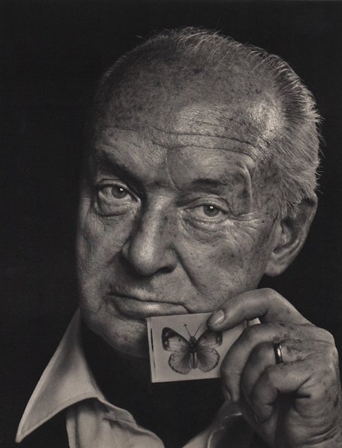 Vladimir Nabokov by Yousuf Karsh, 1976. Sold for $380