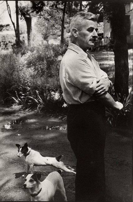 William Faulkner by Henri Cartier-Bresson, 1952. Est. $180-$220