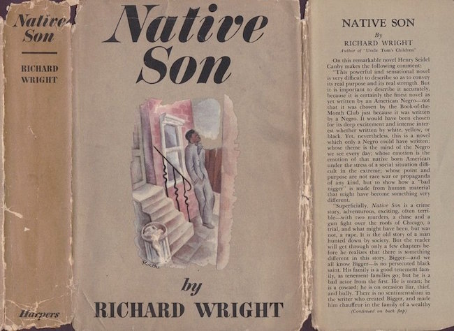 First edition of 'Native Son,' by Richard Wright, Harper & Brothers, 1940. Estimate: $100-$200