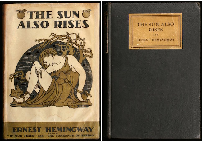 Left One Of The Most Important Literary Works 20th Century And Ernest Hemingway S Difficult First Edition To Find With Its Dust Jacket Is