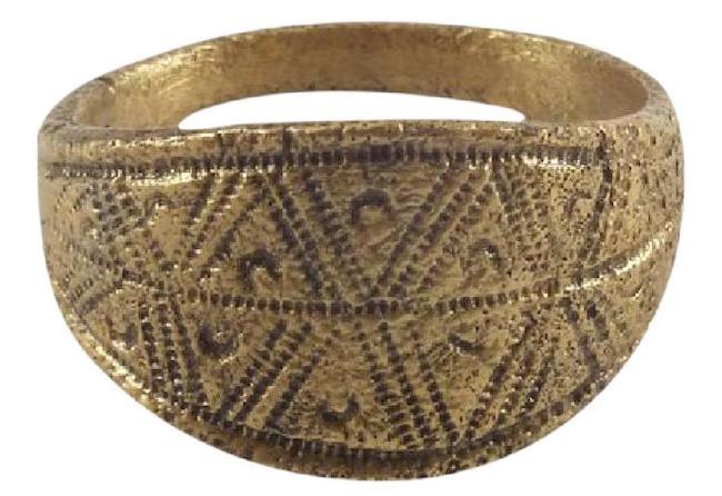 Viking Warrior's Ring, 900 A.D., size 10, gold overlay. Estimate: $400-$500. Jasper52 image