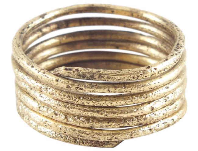 Viking warrior's coil ring, 10th century A.D., size 9. Estimate: $100-$200. Jasper52 image
