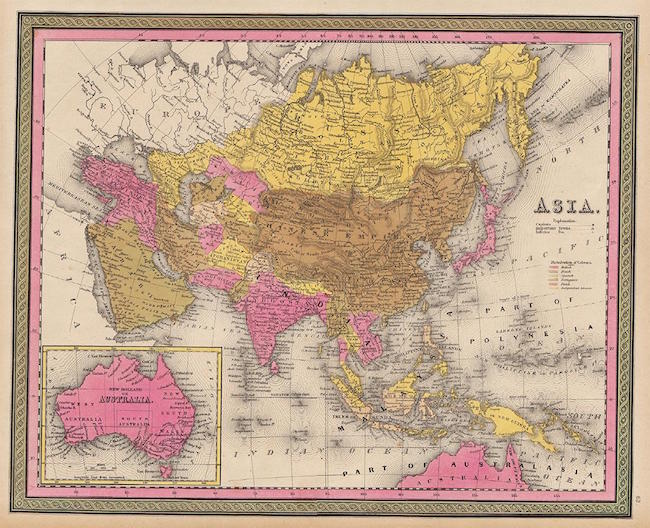 Expert Tips On Collecting Old Maps Jasper - Antique maps for sale australia