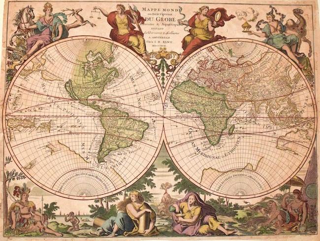 Antique Maps Putting World Views Into Perspective Jasper - Antique maps amsterdam