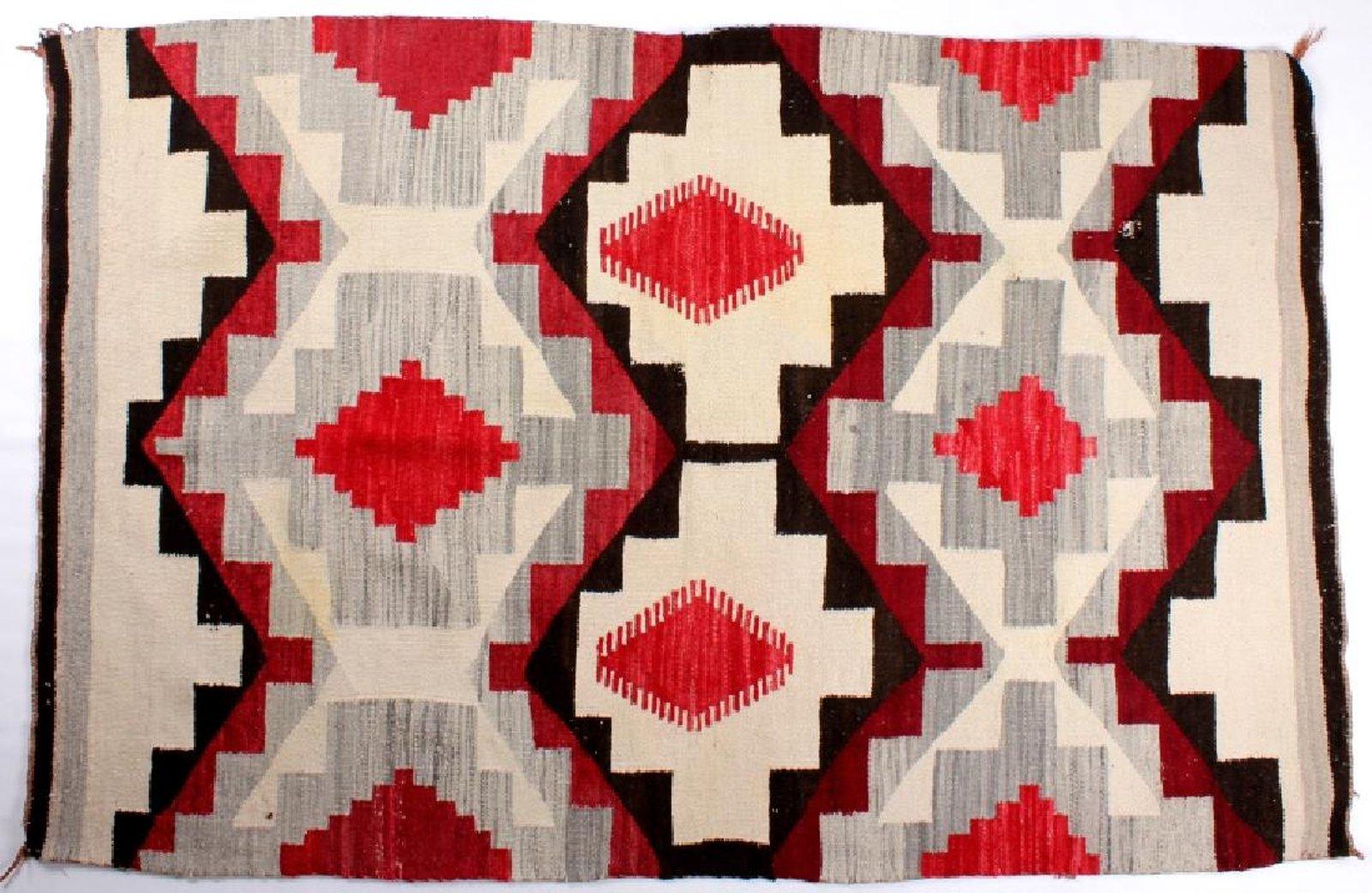 Ganado-style Navajo rug